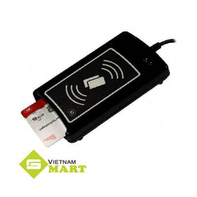 Kiểm tra thiết bị đọc thẻ SCR-1281 C8 trước khi ứng dụng