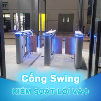 Kiểm soát lối vào cổng swing
