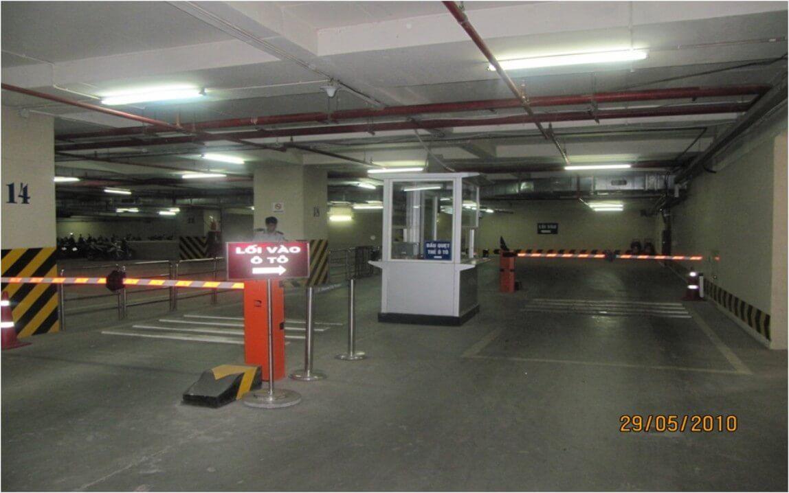 Hệ thống CMPS tại Vincom Tower Hà Nội