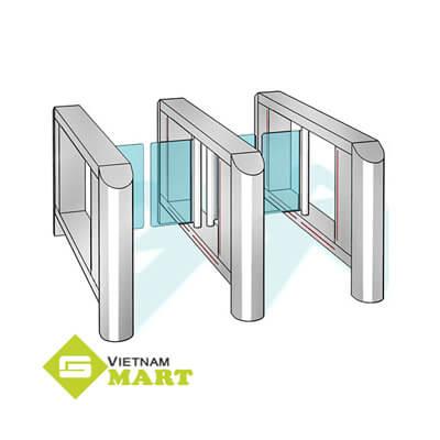 Cổng an ninh phân làn tự động Kaba HSB-E04