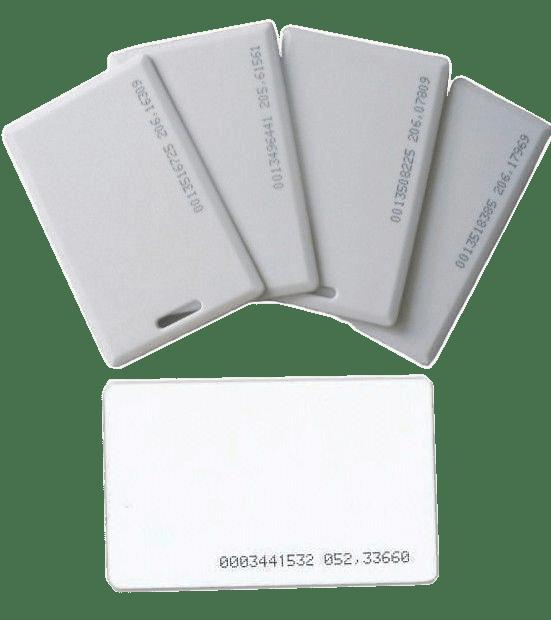 Thẻ không tiếp xúc - Thẻ cảm ứng - Thẻ RFID (Proximity card) - Thẻ chấm công