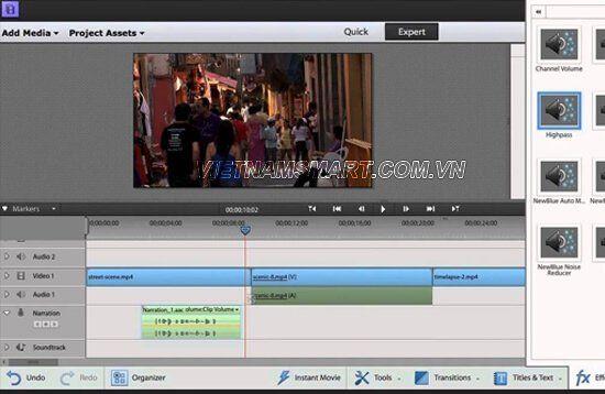 AVS video clip Editor