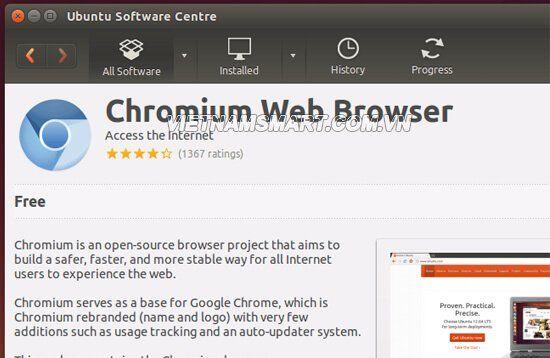 Cài đặt Chromium hay Chrome