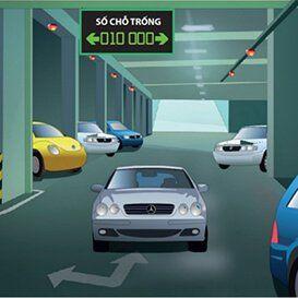 Hệ thống hướng dẫn bãi đỗ xe