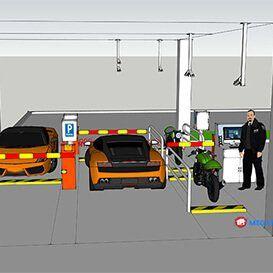 Kiểm soát bãi đỗ xe ôtô
