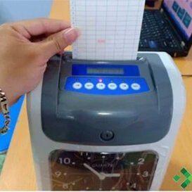 Máy chấm công thẻ giấy