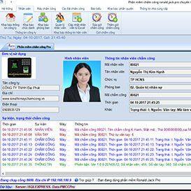 Phần mềm chấm công
