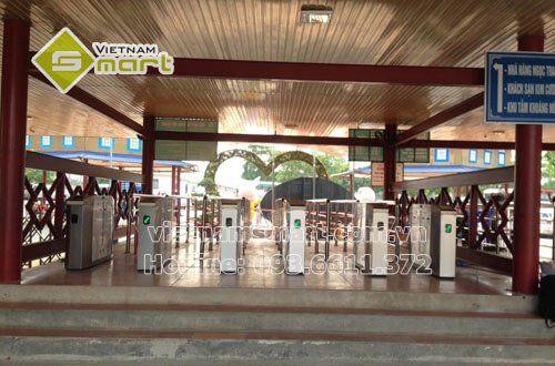 Dự án lắp đặt kiểm soát vé khu vui chơi Aovua JSC - Đảo Ngọc Xanh