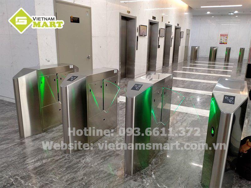 Cổng Flap thay thế cho cổng tay xoay tripod của VietnamSmart
