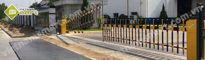 Hình ảnh cho barie hàng rào