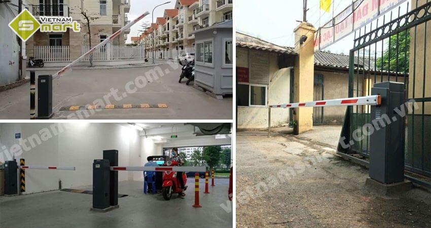 Cổng barie tự động VietnamSmart