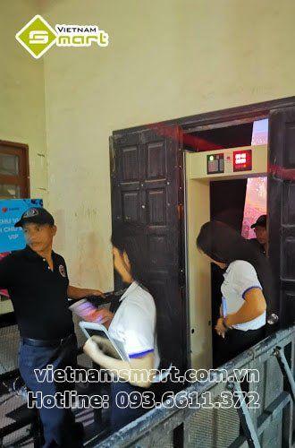 Dự án lắp đặt hệ thống kiểm soát an ninh bằng cổng dò cho sự kiện