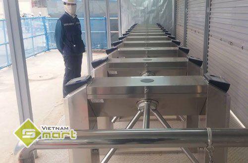 Dự án lắp đặt kiểm soát ra vào tại Samsung Yên Phong
