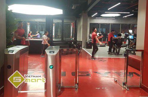 Dự án kiểm soát ra vào checkin phòng tập Gym tại TP HCM