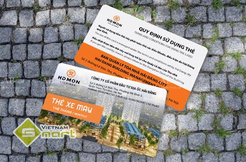 Proximity Card dùng trong hệ thống quản lý bãi đỗ xe