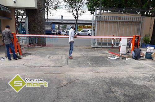 Lắp đặt barrier tự động