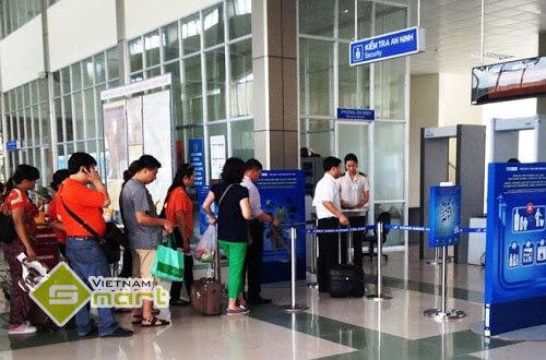 Ứng dụng cổng dò sử dụng tại sân bay