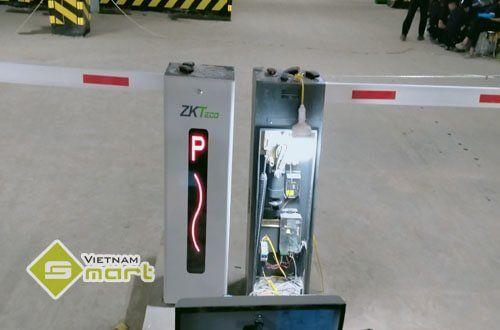 Lắp đặt barrier tự động ZKTeco CMP-200 cho Ecohome 3