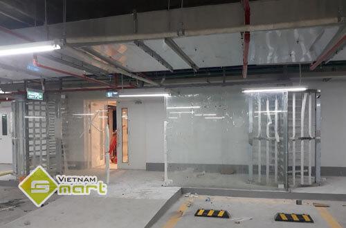 Dự án lắp đặt cửa xoay full height kiểm soát ra vào tại tòa nhà T14 Time City