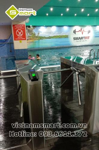 Dự án lắp đặt kiểm soát ra vào bể bơi Mipec Tây Sơn