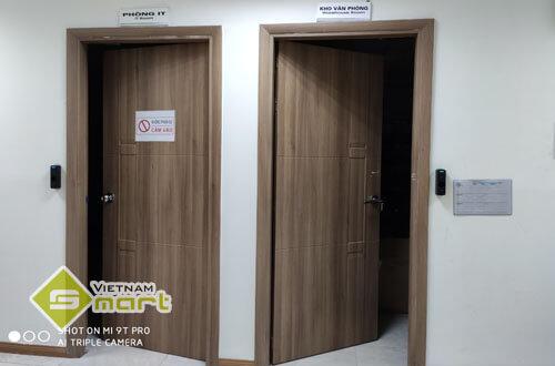 Dự án lắp đặt thiết bị đọc dấu vân tay kiểm soát cửa cho công ty DYT Bắc Giang