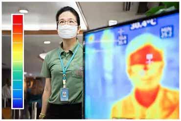 Kiểm soát dịch bệnh bằng thân nhiệt