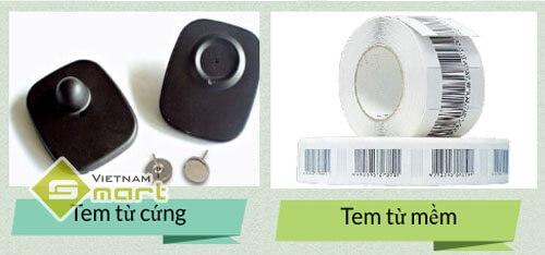 các loại tem từ an ninh