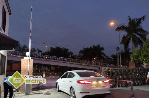 Dự án lắp đặt barie rào chắn tại cổng ra vào cho công ty Coma 26, Bắc Ninh