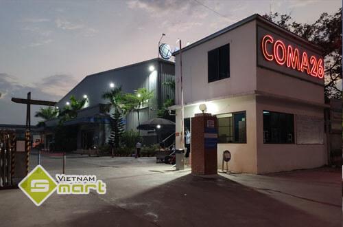 Dự án lắp đặt barrier tự động cho công ty Coma 26 tại Bắc Ninh