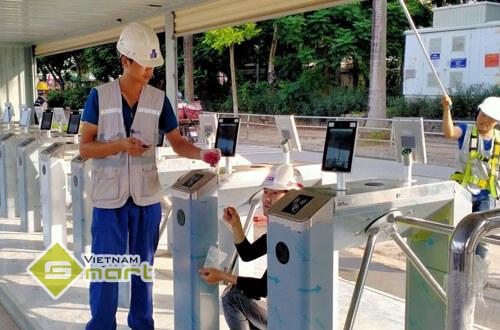 Dự án lắp đặt máy chấm công khuôn mặt để kiểm soát ra vào tại Lotte Mall, Hà Nội