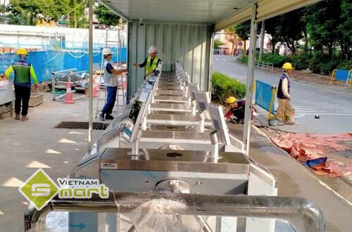 Dự án lắp đặt kiểm soát ra vào tại Lotte Mall Hà Nội