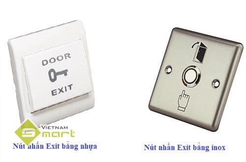 Nút bấm Exit tiếp xúc