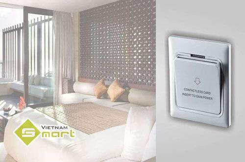 Công tắc tiết kiệm điện mang lại nhiều lợi ích cho khách sạn