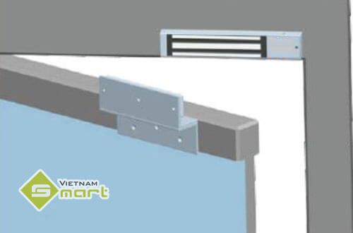 Cách lắp khóa điện từ cho cửa gỗ