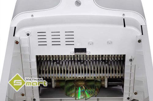 Nguyên lý hoạt động của máy hủy giấy