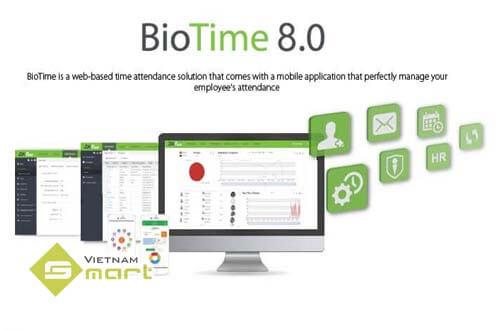 BioTime 8.0 Tiếng Việt