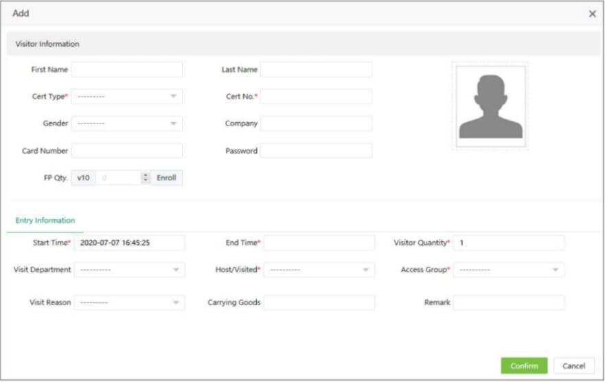 tạo cuộc hẹn cho khách và đăng ký thông tin khách hàng