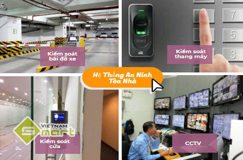 Các hệ thống an ninh cho tòa nhà