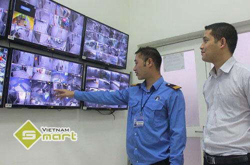Hệ thống camera an ninh tòa nhà