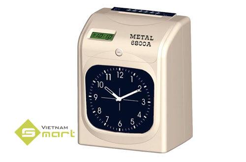 Máy chấm công dùng thẻ giấy METAL 6800A