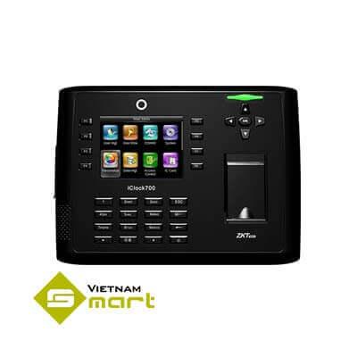 Máy chấm công vân tay thẻ ZkTeco iClock 700
