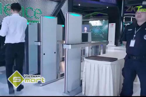 Ứng dụng thực tế của cổng dò kim loại ZKTeco MST150