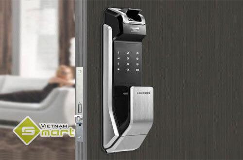 Ứng dụng lắp đặt Khóa cửa vân tay SamSung cho cửa nhà