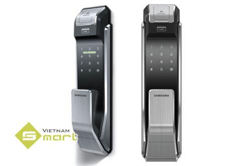 Dòng Model khóa vân tay Khóa cửa vân tay Samsung SHS-P718LMK mới nhất