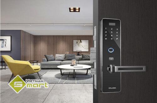 Lắp đặt thiết bị khóa vân tay cho căn hộ cao cấp