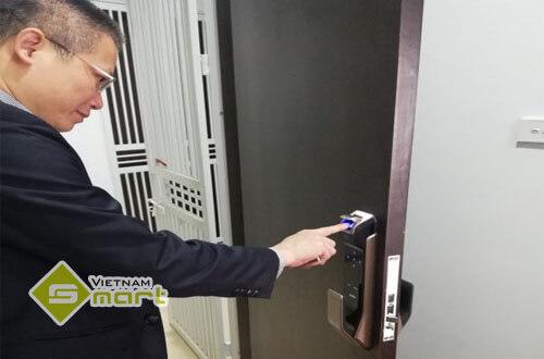 Ứng dụng lắp đặt khóa SamSung cho chung cư cao cấp