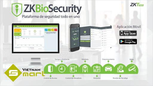 Phần mềm ZK Biosecurity