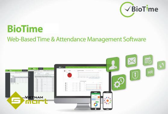 Phần mềm chấm công BioTime