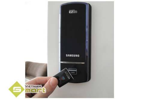 Đăng ký thẻ từ khóa Samsung