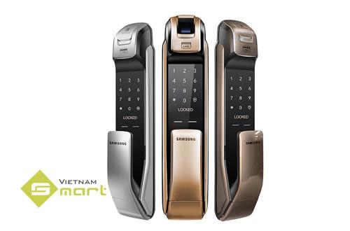 Khoá cửa vân tay Samsung SHS-P718LMG/EN